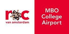 Logo ROC van Amsterdam – MBO College Airport Kwaliteitsronde App