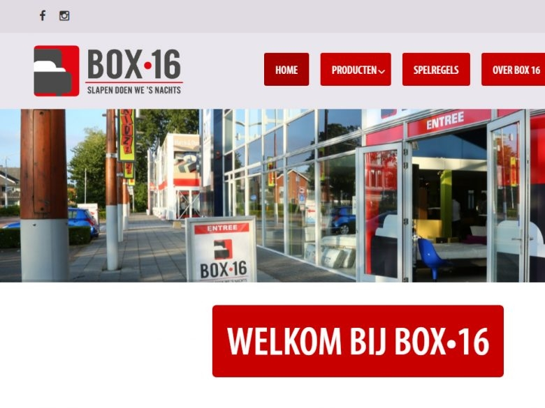 BOX 16 Portfolio Website