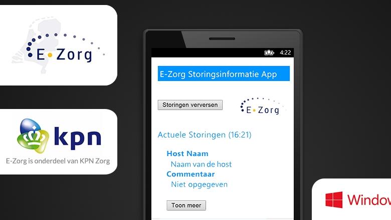 E-Zorg Storingsinformatie App