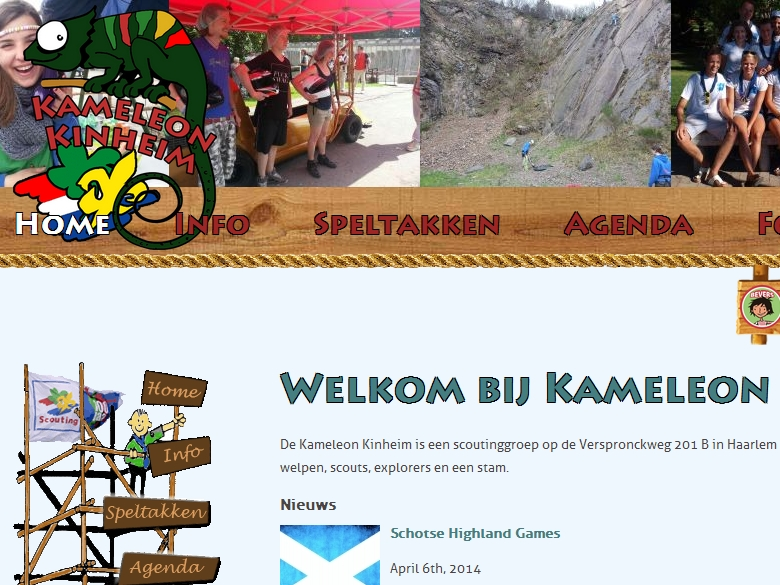 Scoutinggroep Kameleon Kinheim