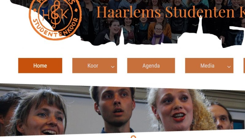 Haarlems Studenten Koor Website